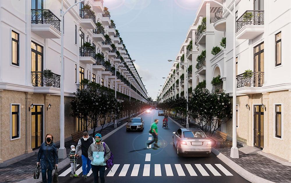 Phối cảnh dự án Bảo Sơn Tân Phú