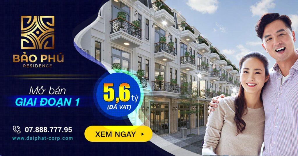 Mở bán dự án Bảo Phú Residence Quận 12