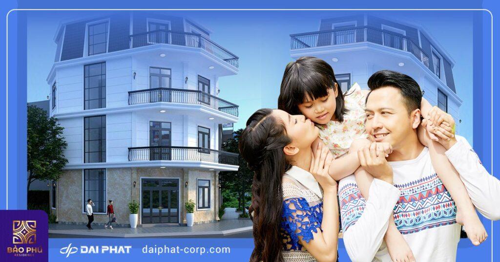 Nhà phố liền kề Bảo Phú An Phú Đông