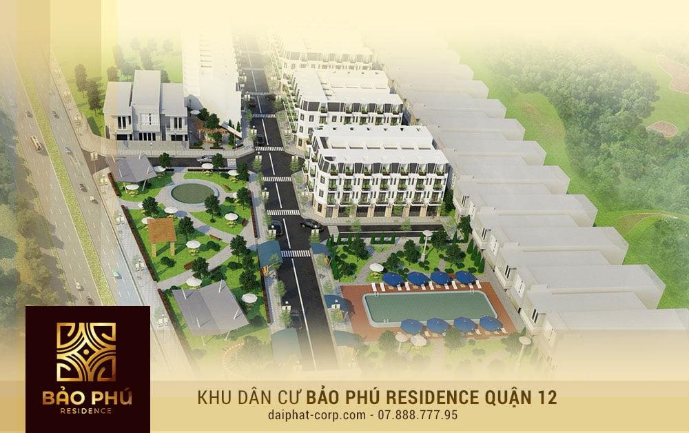 Tiện ích nội khu đa dạng tại KDC Bảo Phú