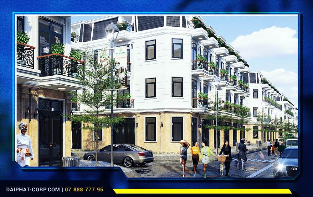 Dự án Bảo Phú Residence của Đại Phát