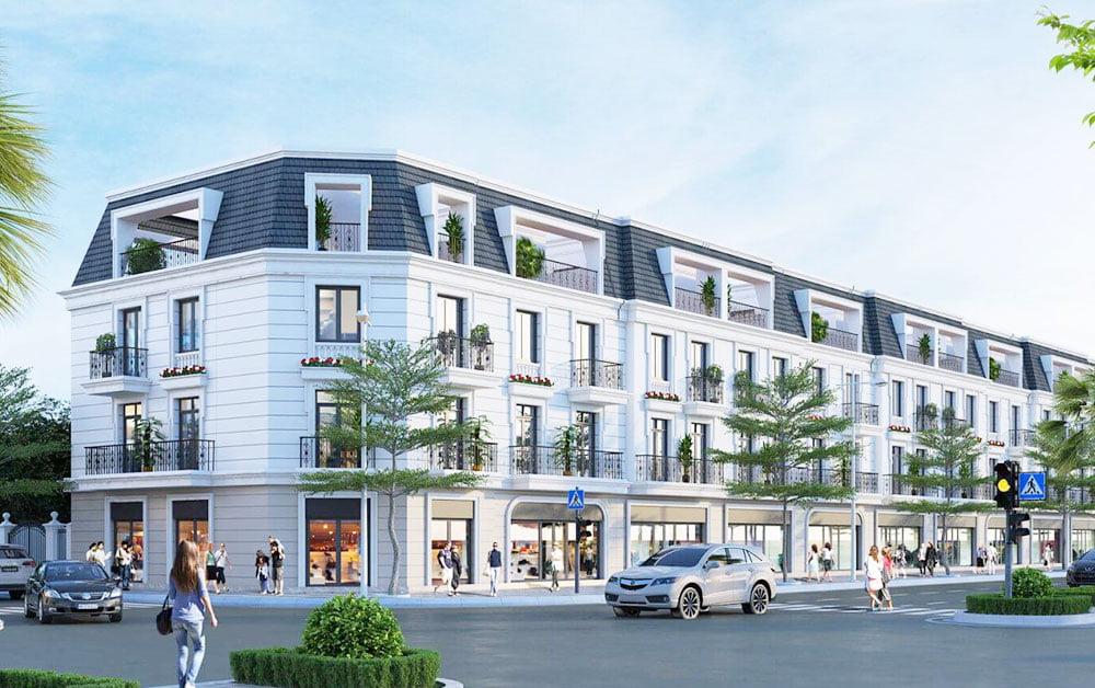 Một dự án BĐS có shophouse tại TP HCM
