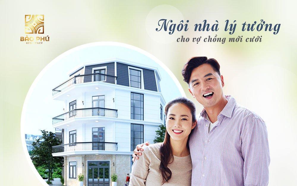 Nhà phố Bảo Phú Residence - Ngôi nhà lý tưởng cho vợ chồng mới cưới
